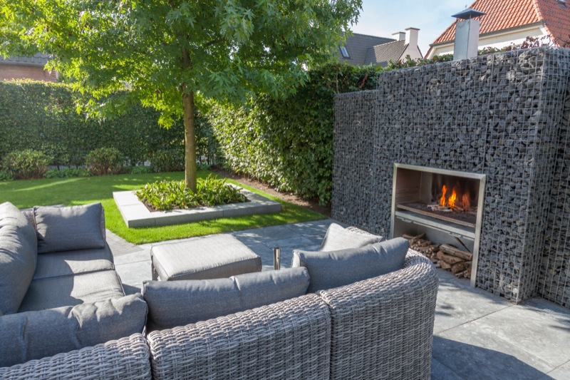 Beekveld tuindesign for Oprit ontwerp